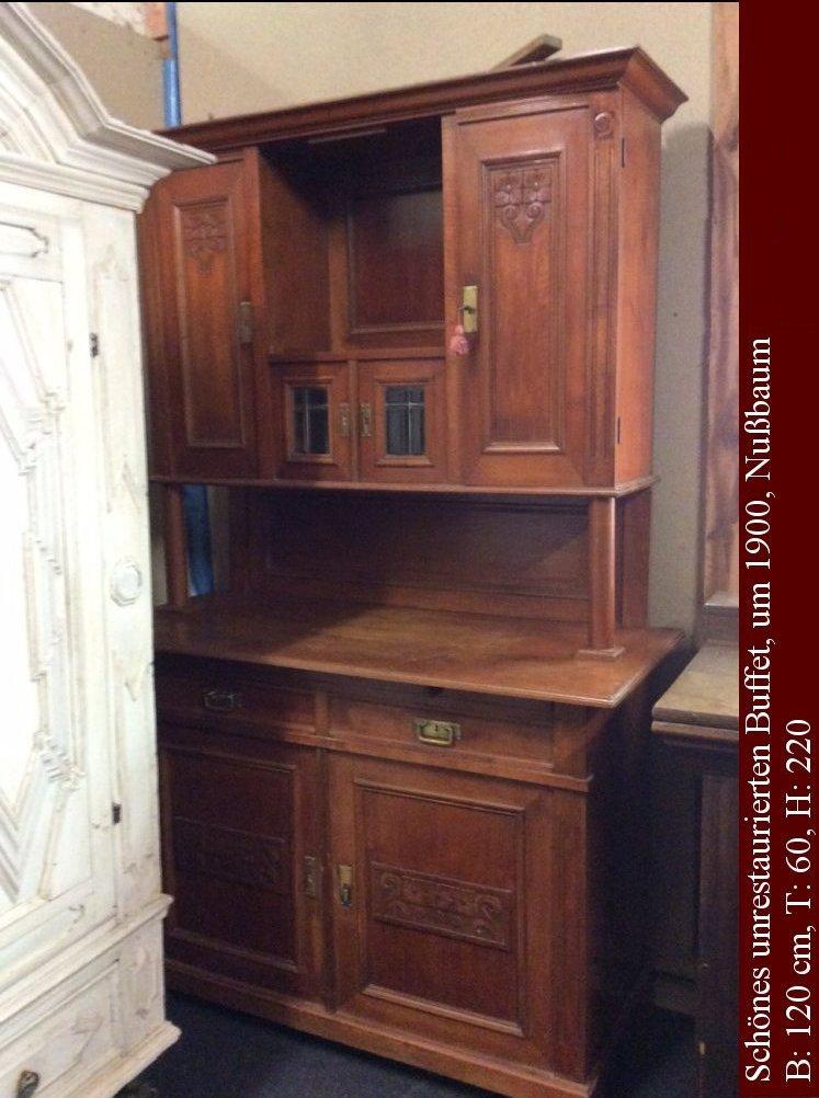 wohnzimmer buffet antik raum und m beldesign inspiration. Black Bedroom Furniture Sets. Home Design Ideas